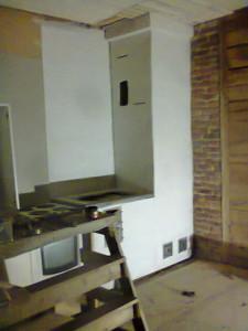 keittiön piippu ja hella